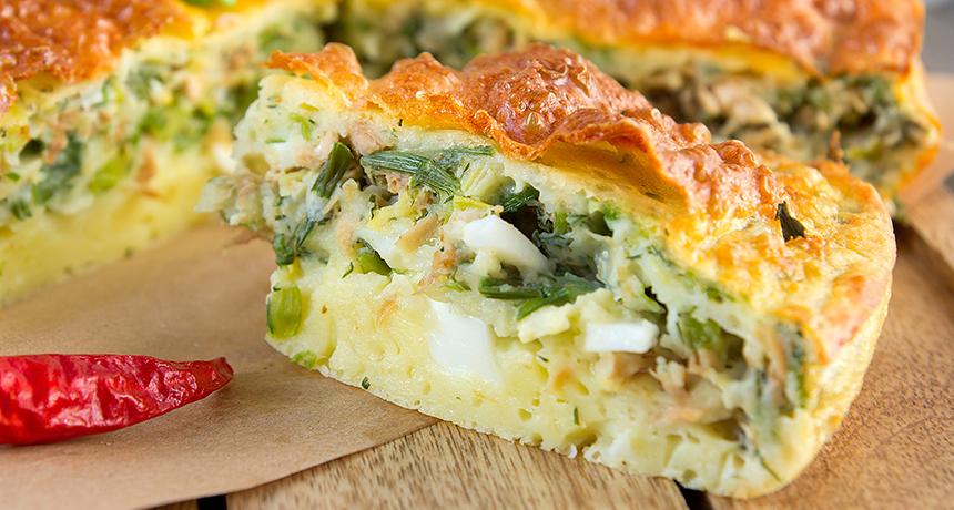 Рецепт Пирог капустный с курицей