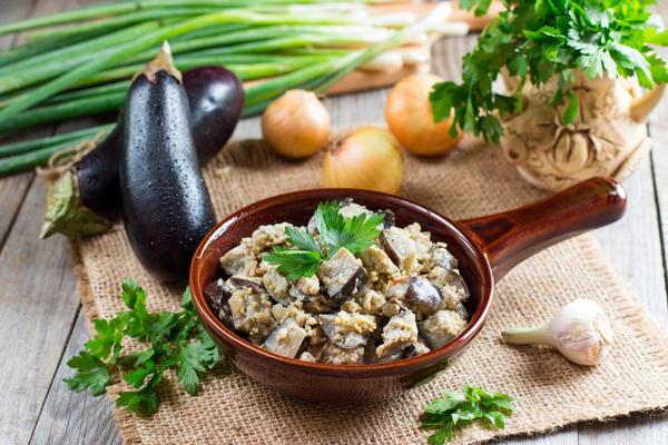 Рецепт Баклажаны маринованные «Грибочки»