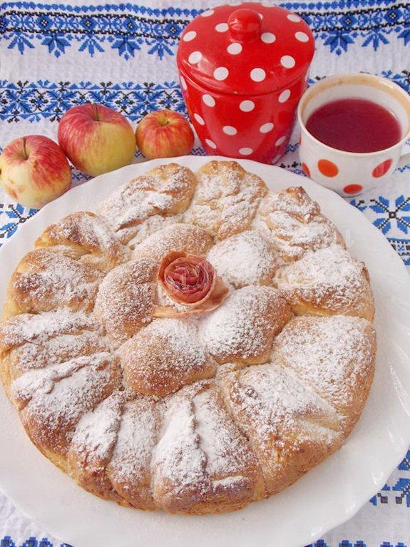 Рецепт Духовые пирожки с яблоками