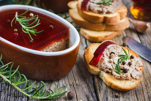 Рецепт Паштет из печени и баклажанов