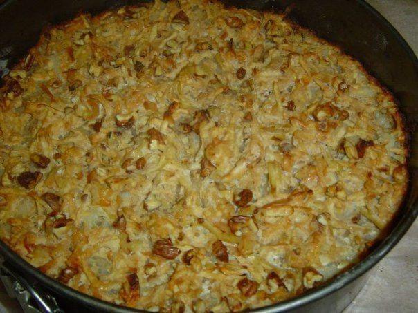 Рецепт Яблочный пирог по-болгарски из «Работницы»