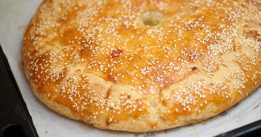 Рецепт Сельский мясной пирог