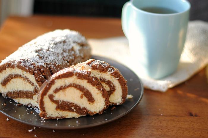 Рецепт Шоколадный рулет «Мария»