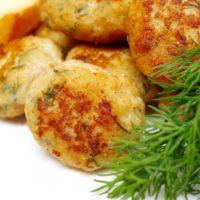 16631 Рецепт Картофельно-куриные оладьи с сыром