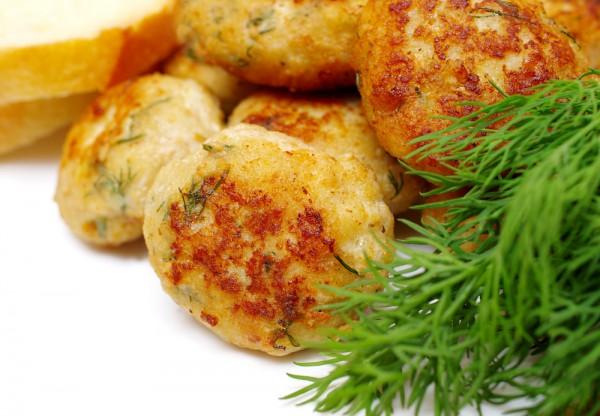 Рецепт Картофельно-куриные оладьи с сыром