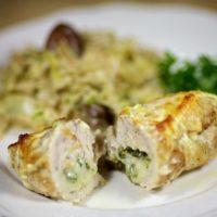 16647 Рецепт Куриные крученики с сыром и яйцом