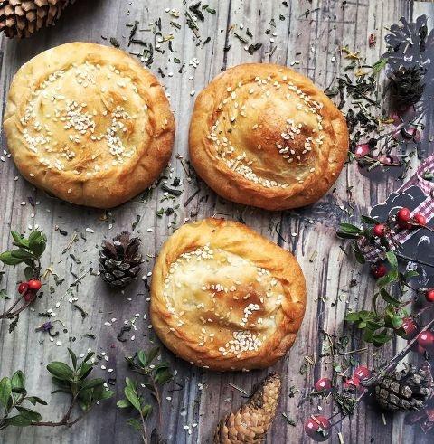 Рецепт Татарские пироги «Элеш»