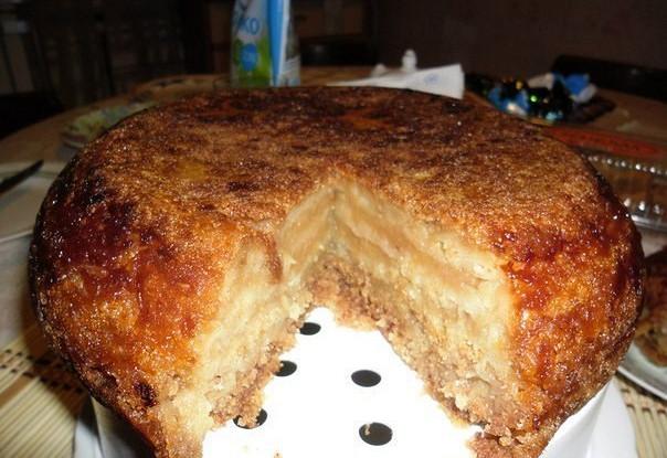 Рецепт Насыпной пирог «Тыковка»