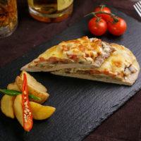 16664 Рецепт Запеченная свинина под сырной корочкой