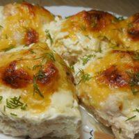 16675 Рецепт Куриные бедрышки с начинкой