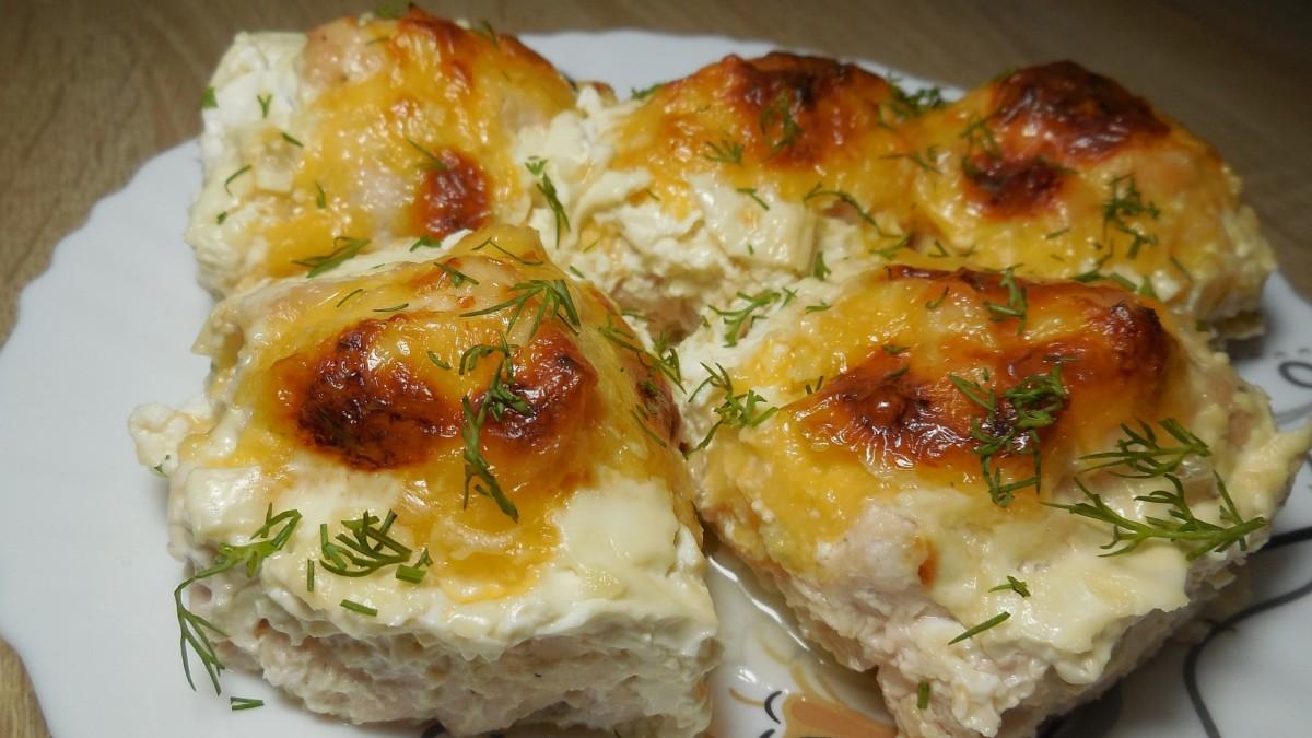 Рецепт Куриные бедрышки с начинкой