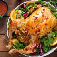 16677 Рецепт Курица с горчицей, запеченная в духовке