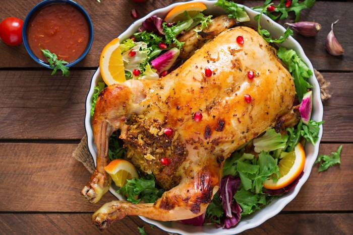 Рецепт Курица с горчицей, запеченная в духовке