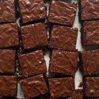 16681 Рецепт Брауни с тёмным шоколадом