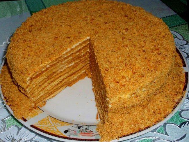 Рецепт Домашний торт «Медовый»