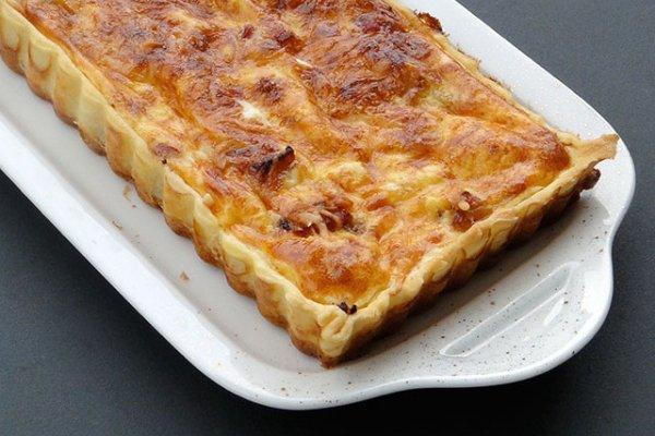 Рецепт Луково-сырный пирог