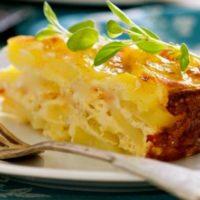 16705 Рецепт Картофельно-сырный гратен
