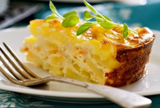 Рецепт Картофельно-сырный гратен