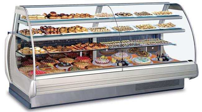 Использование холодильных витрин и их разнообразие