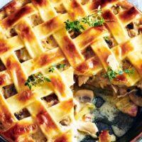 16713 Рецепт Пирог с картофелем и сливочным маслом