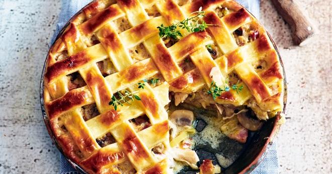 Рецепт Пирог с картофелем и сливочным маслом