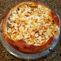 16718 Рецепт Штрейзельный пирог с персиками