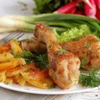 16747 Рецепт Курица по-сельски
