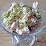 16762 Рецепт Картофельный салат с копченой индейкой
