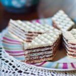 16784 Рецепт Вафельный торт без выпечки с шоколадным кремом