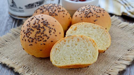 Рецепт Постные пшённые булочки к завтраку
