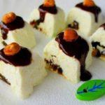 16812 Рецепт Творожный десерт с черносливом