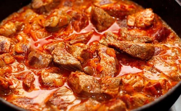 Рецепт Мясо по-особенному