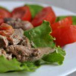16840 Рецепт Печень нежнейшая в сметанном соусе