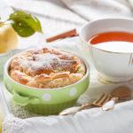 16838 Рецепт Клафути с яблоками и корицей