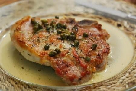 16943 Рецепт Свиные отбивные в томатно-сырном кляре