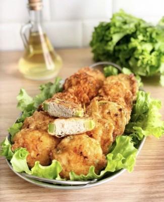 Рецепт Фаршированные кабачки в кляре