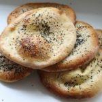 16977 Рецепт Цельнозерновые хлебные лепешки