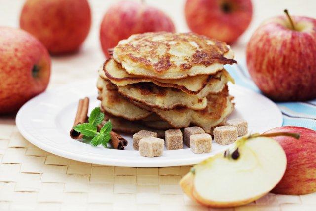 Рецепт Драники из яблок