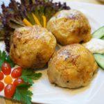 17013 Рецепт Фаршированные сыром куриные бедрышки в аджике