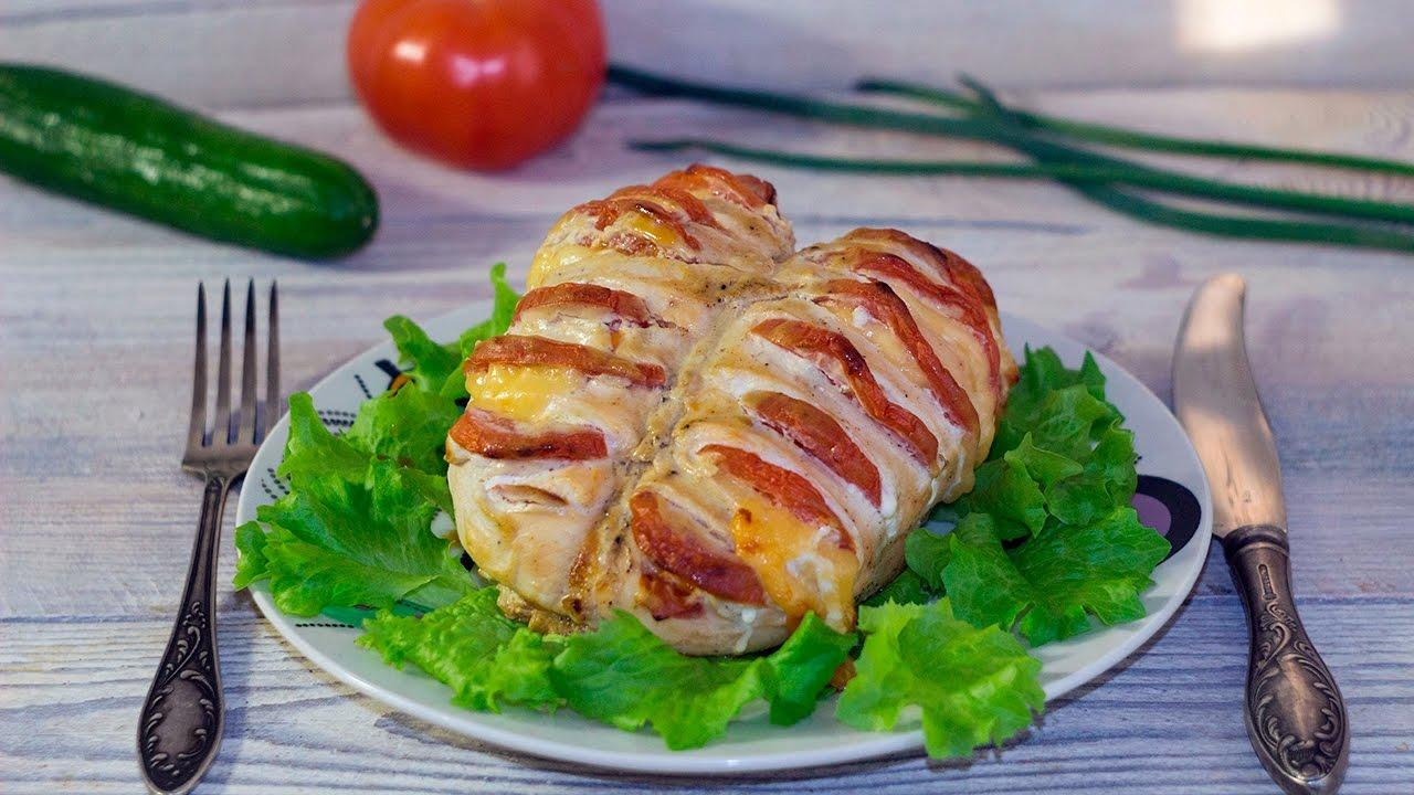 17038 Рецепт Куриное филе в сметанном соусе