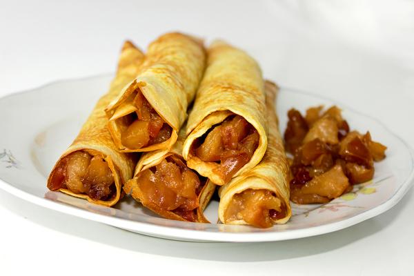 Рецепт Капустно-яблочная начинка для блинов