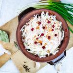 17062 Рецепт Квашеная капуста с клюквой