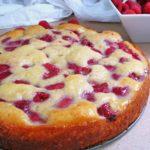 17074 Рецепт Яблочный пирог с пудингом и ягодами