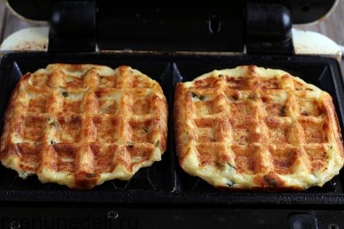 Рецепт Картофельные вафли в духовке