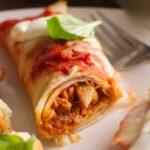 17102 Рецепт Картофельные конвертики с соусом