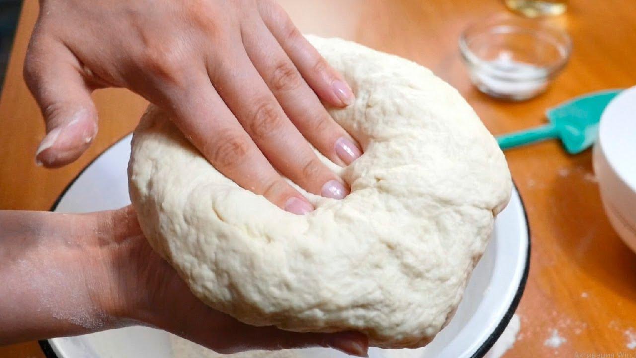Универсальное тесто для пиццы и пирога
