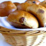 17122 Рецепт Дрожжевые булочки с творогом и сухофруктами