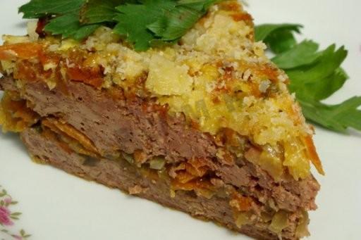 17131 Рецепт Печеночный торт-запеканка