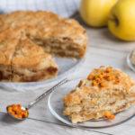17133 Рецепт Яблочный пудинг с хрустящей крошкой