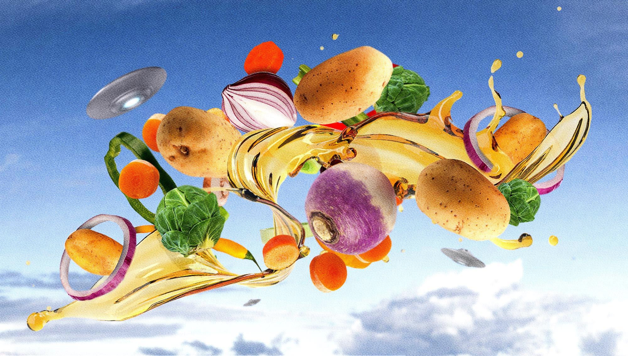 Как сделать глазирование жареных овощей – просто и вкусно
